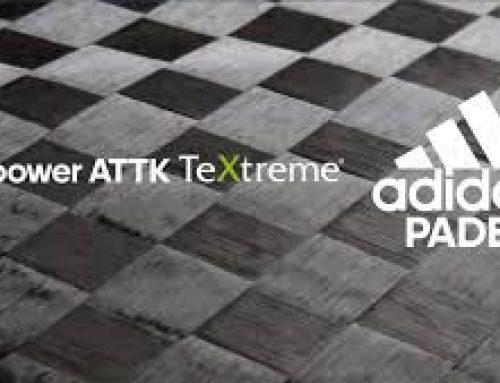 Pala de padel Adidas Adipower Attk y Ctrl Textreme